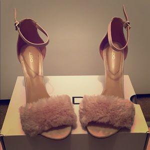 Aldo Lalisa fur heels